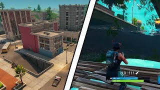 WINNING A GAME UNDER TILTED TOWERS | Fortnite UNDERGROUND Glitch | Fortnite Battle Royale