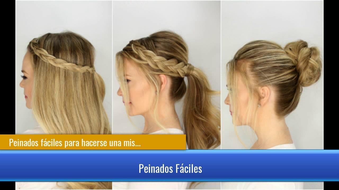 Peinados s per f ciles para hacerse una misma en casa para navidad youtube - Peinados para hacerse una misma ...