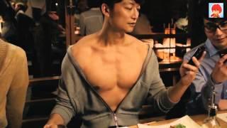 【日本廣告】爆笑注意!SMAP香取慎吾最具代表性廣告,在聯誼中坦胸露肉...