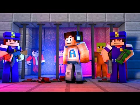 THERE'S A BRAND NEW PRISON! - (Minecraft Prison Escape #4)