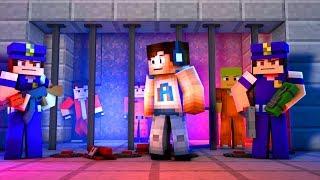 THERE'S A BRAND NEW PRISON! - (Minecraft Prison Escape #4)