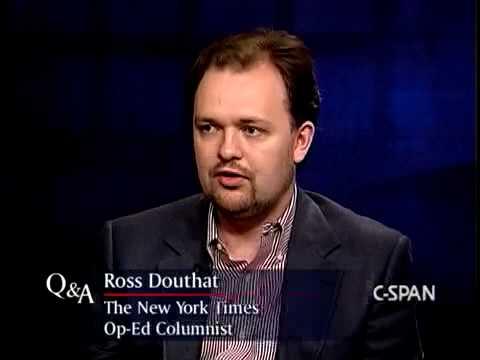 Q&A: Ross Douthat