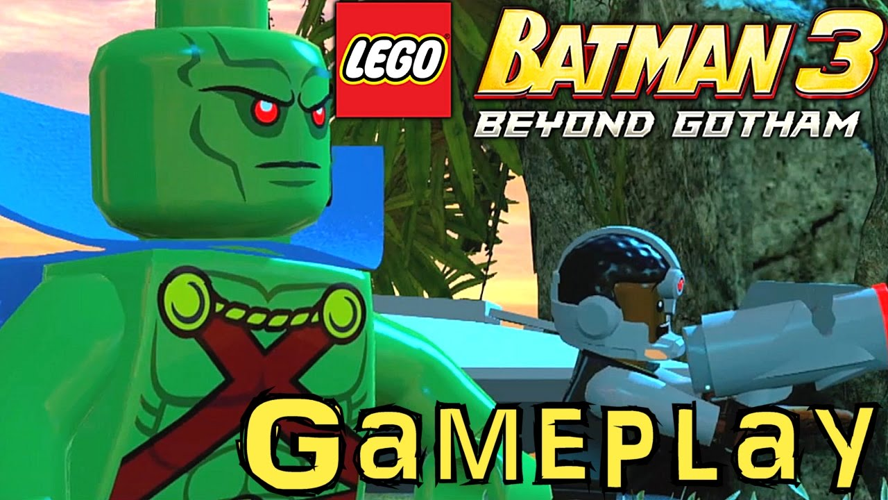 lego batman 3 gameplay analysis essay