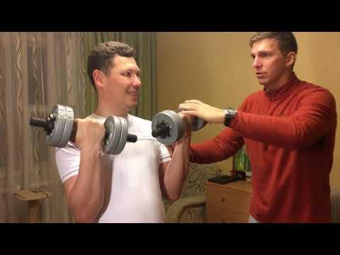 Гантельная гимнастика для мужчин в домашних условиях. Упражнения с гантелями для мужчин
