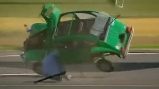Car vs Boeing 747 Engine | Top Gear | BBC