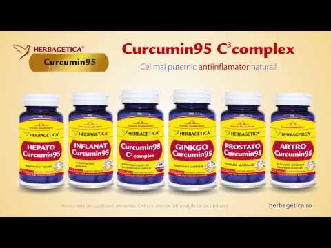 Curcumin95 C3 complex de la Herbagetica