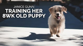 8 Week Old Puppy Training - Janice Gunn