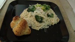 Quick And Easy Chicken Broccoli Pasta Alfredo