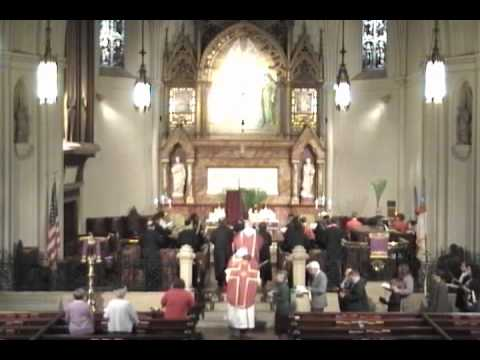 All glory, laud, and honor - Palm Sunday 2011 @ St. John's Detroit