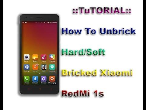 How to Unbrick Hard / Soft Bricked Xiaomi Redmi 1s [Easy]