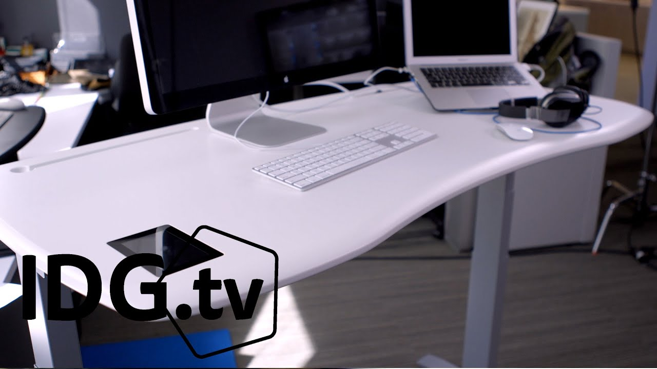 Stir Kinetic Desk M1 Review: This Standing Desk Has A Brain   YouTube