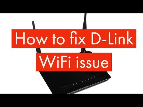 How to fix D-Link WiFi issue