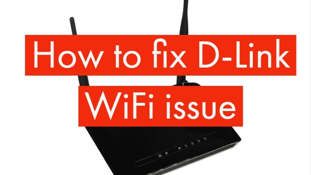 How to fix D-Link WiFi issue | #dlinkwifi #dlink