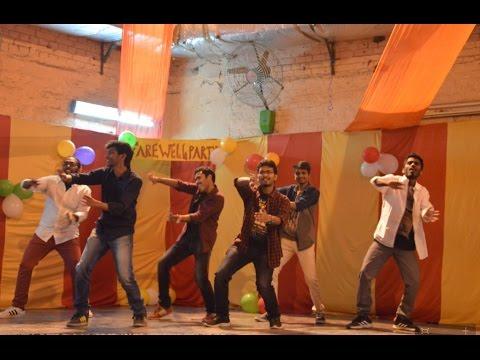 Farewell 2k17 IITD Dance - Tribute to Telugu 2k13 Seniors