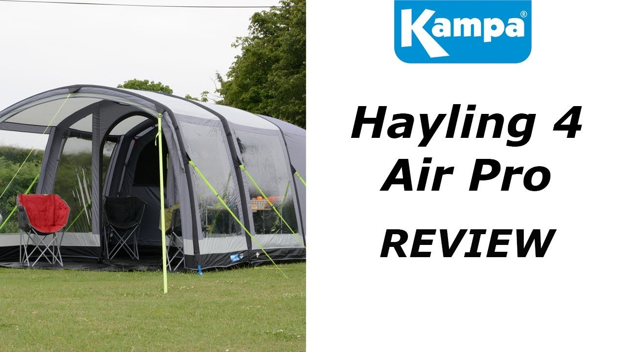 Kampa Hayling 4 AIR - 2018 - A review