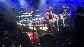 Saxon - Nigel Glockler Drum Solo - Live in Belfast 03/05/13