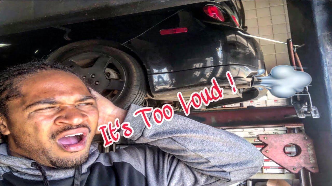 New Exhaust ! My Cobalt SS Gets Loud !