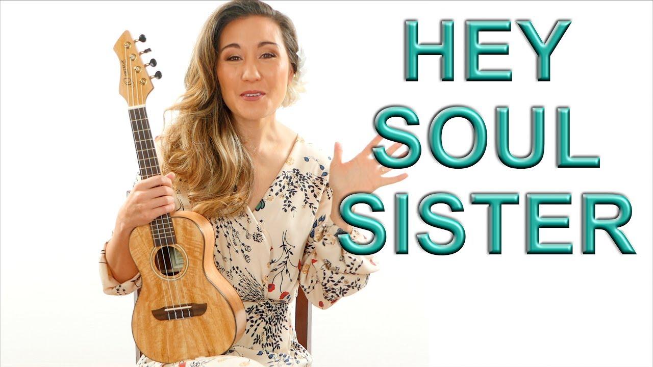 Hey Soul Sister   Train Ukulele Tutorial and Play Along