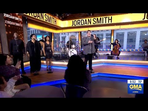 """Jordan Smith Performs """"Only Love""""  (LIVE GMA)"""