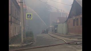 В Ростове-на-дону продолжается наращивание группировки для ликвидации пожара в жилом секторе
