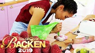 25 Mini-Kuchen: Wem gelingt der Zauberwürfel? | Aufgabe | Das große Backen 2019 | SAT.1