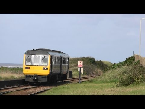 Underground & Overground - Walking From Whitehaven Train Station To Corkickle Station. Cumbria UK