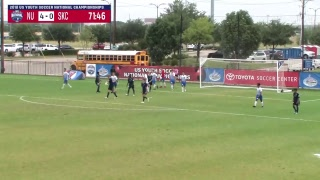 Nationals Union 04 Black vs. Sporting BV SKC Academy 04 - U14 Boys - 7am - Field 5