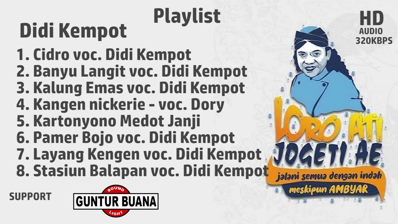 Full Album Didi Kempot Spesial Kangen Nickerie Playlist Mp3 Youtube