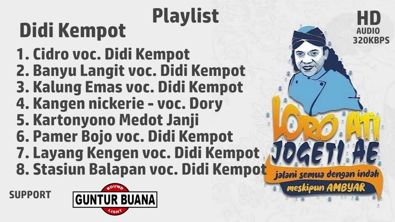 Full Album Didi Kempot Spesial Kangen Nickerie Playlist Mp3 Youtube