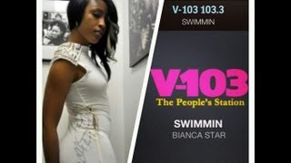 Bianca Star Interview on V-103 Atlanta (WVEE)