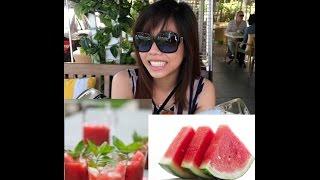 Refreshing Watermelon Cooler