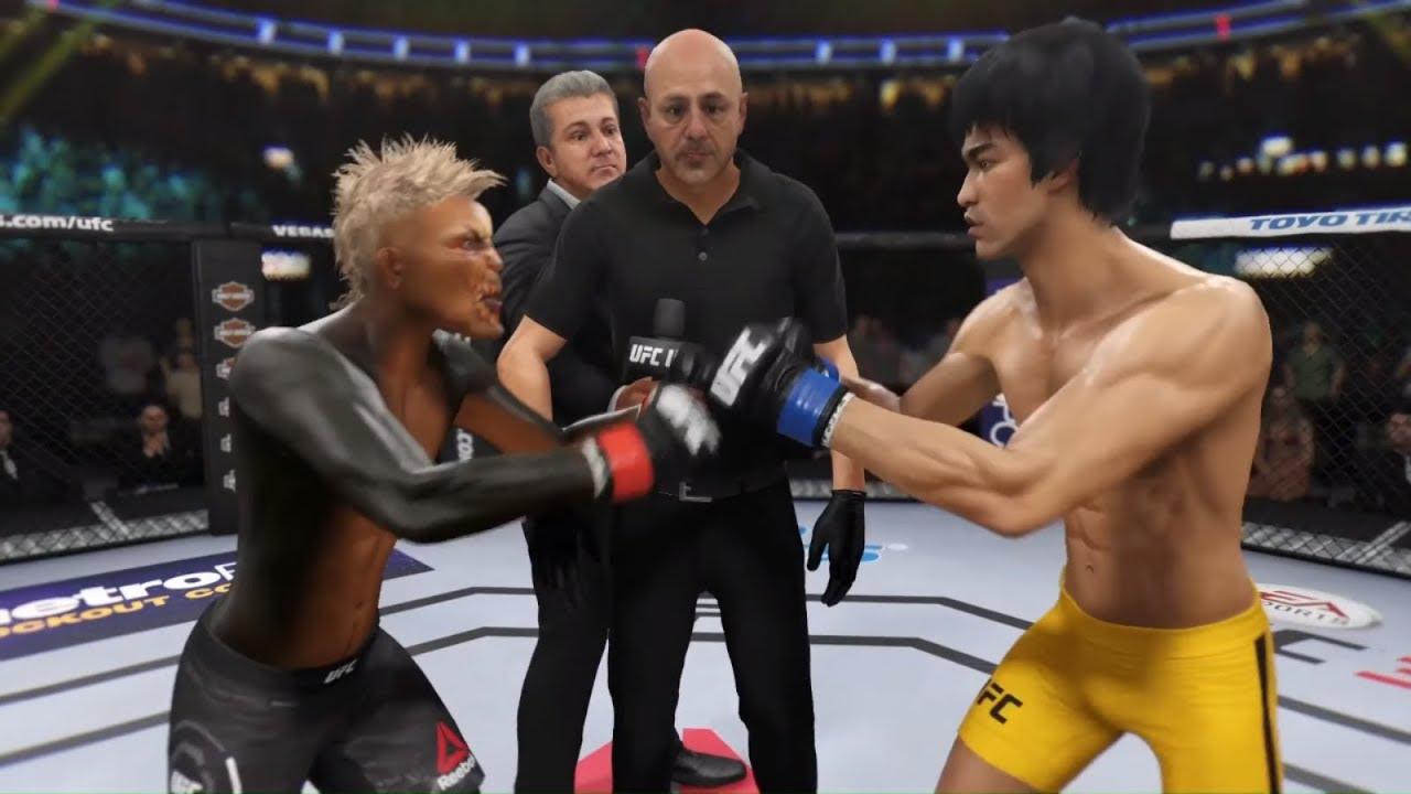 Gremlin vs. Bruce Lee (EA sports UFC 3)