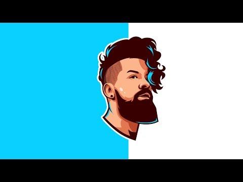 [Not Tutorial] Vector Face Logo Character Adobe Illustrator