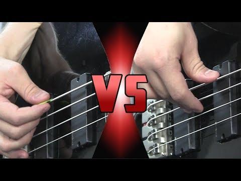 Bajo con DEDOS vs Bajo con PÚA - ¿Cuál es Mejor? | Comparación