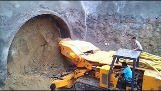 أشهر ألات حفر الانفاق في العالم