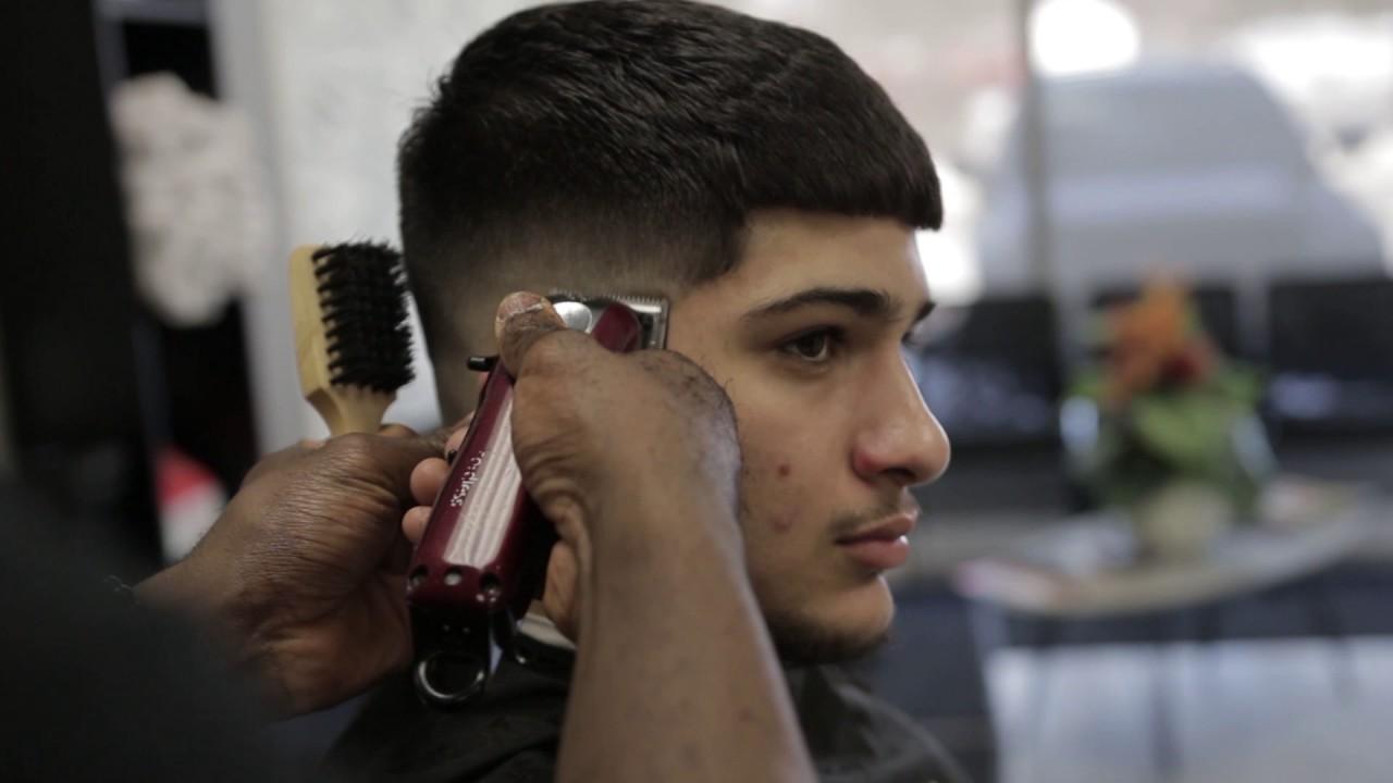 Easy Mid Bald Fade Tutorial Barberjdub Youtube