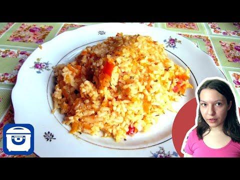 Рис с овощами в мультиварке панасоник 10
