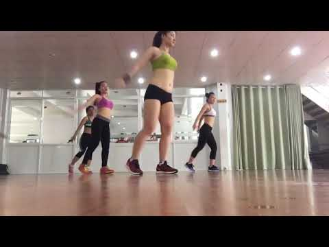 Aerobic Workout For Fat loss only for Beginners Step By Step ..Aerobic dance Workout part 2