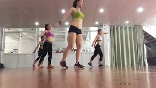 Aerobic Workout For Fat loss only for Beginners Step By Step Aerobic dance Workout part 2