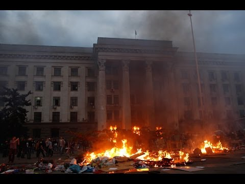 Over 30 killed, dozens wounded in Trade Unions House fire in Ukraine's Odessa