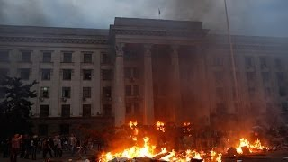 Over 30 killed, dozens wounded in Trade Unions House fire in Ukraine