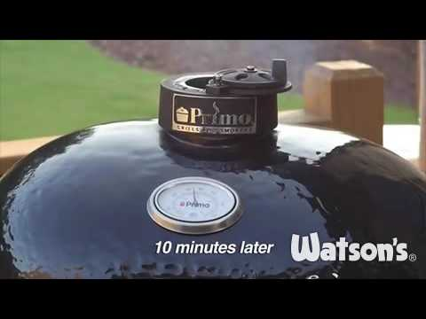 primo grills two zone cooking method - Primo Grills