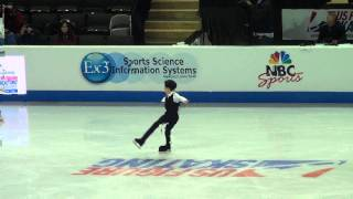 2012 US NATIONALS NATHAN CHEN JR MENS CHAMPION