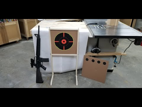 How to Make a Target Stand - Portable and Packable