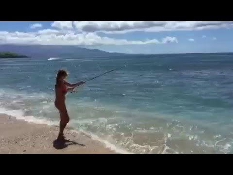 Beach Fishing Maui