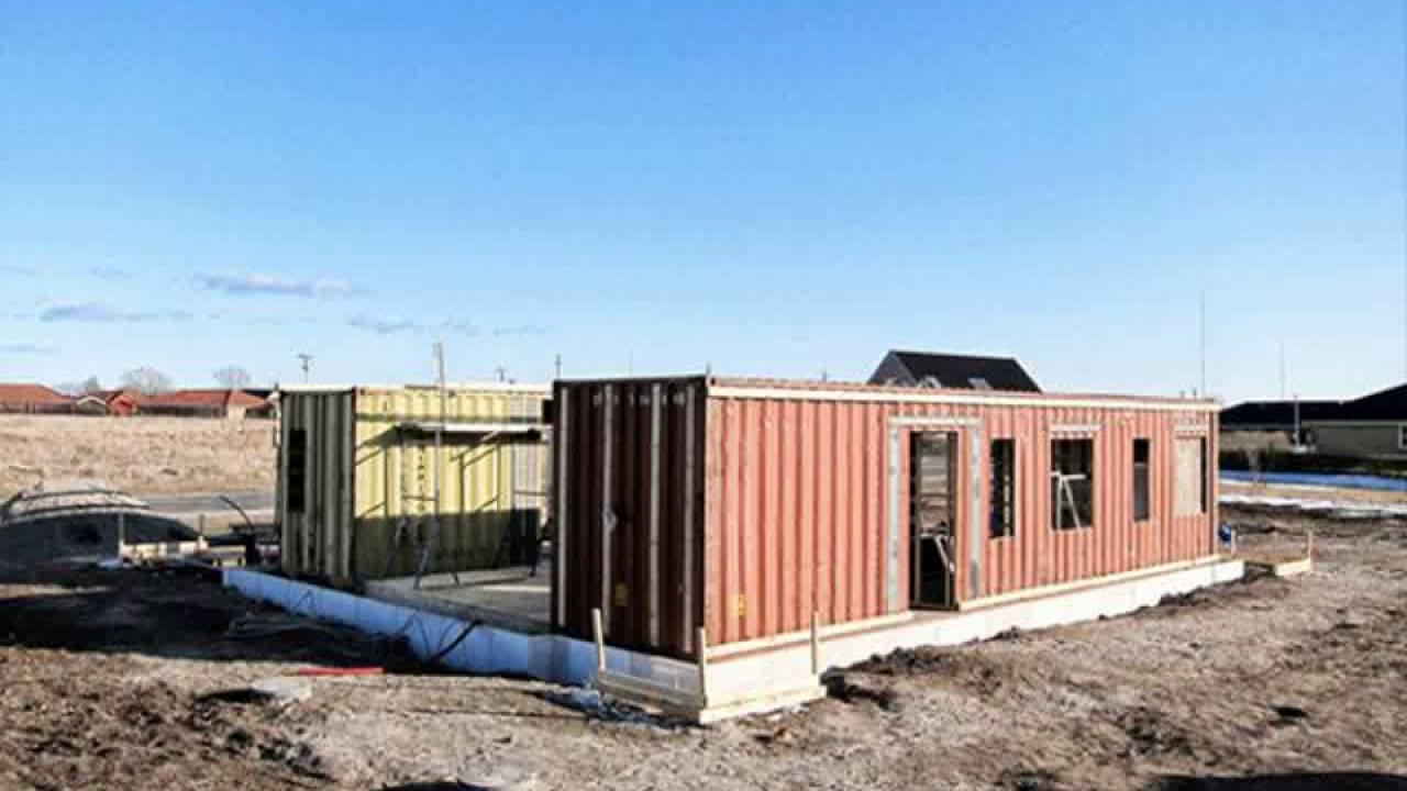 Best Kitchen Gallery: Shipping Container Home Foundation Youtube of Shipping Container Home Foundation  on rachelxblog.com