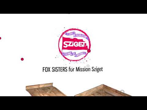Sziget - Mission:Love Revolution 2018 - FOX SISTERS - Bagging for less plastic waste