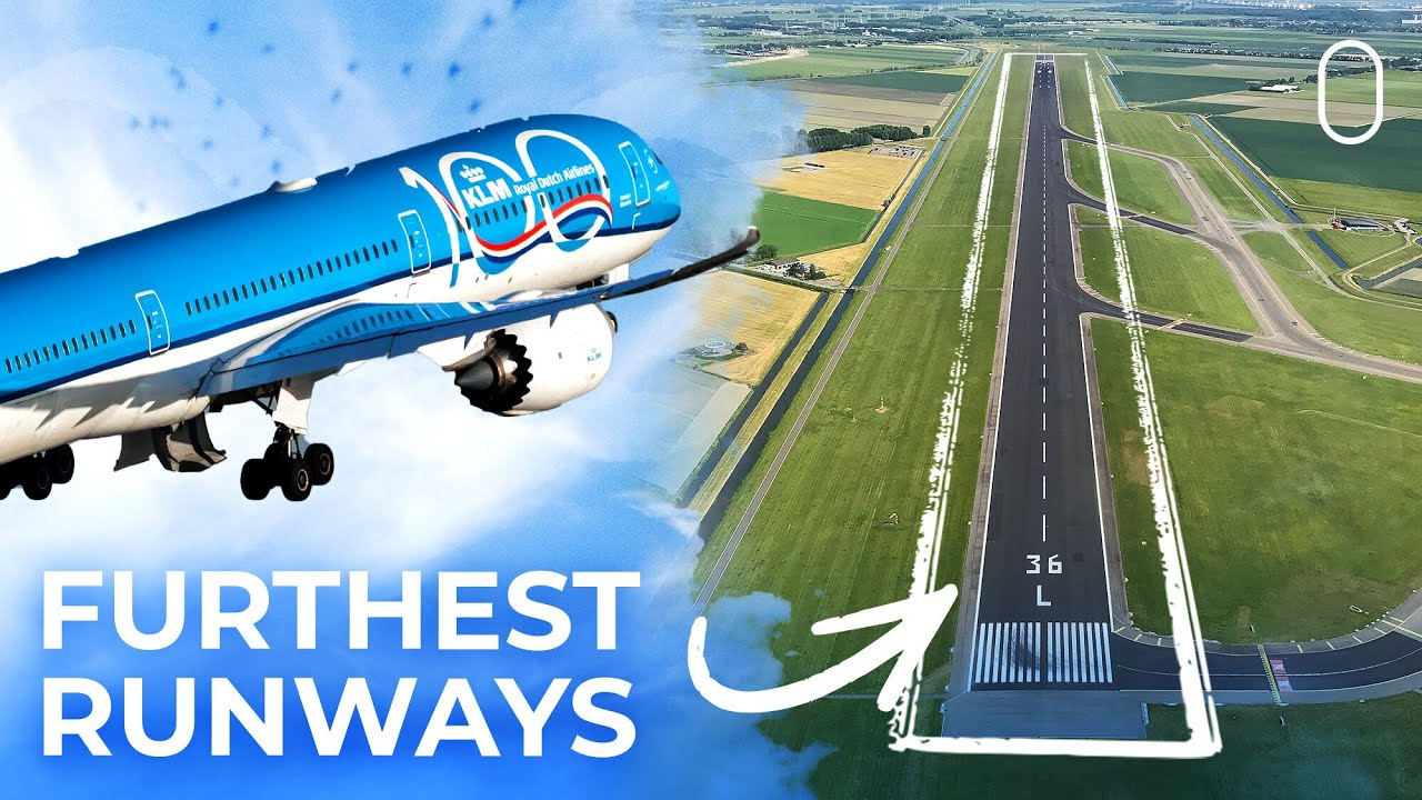 Which Airport's Runways Are Furthest From The Terminal?