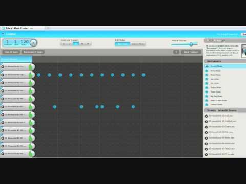 Aviary's Music Creator - Music Effects