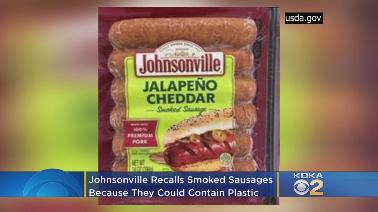 Johnsonville Recalls Jalapeño Cheddar Smoked Sausages Over Plastic  Contamination